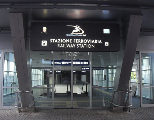 bari airport train station - photo#9